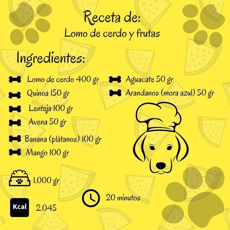 recetas con chancho para perros
