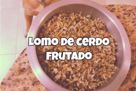 receta lomo de cerdo para perros