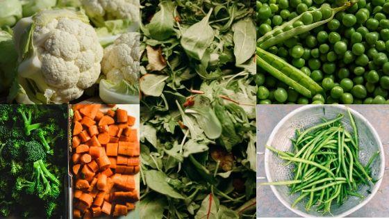 receta perros con vegetales congelados