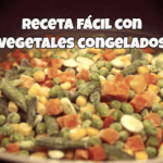 receta facil con vegetales congelados